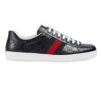 Low-Top-Ace-Sneaker aus Gucci Signature