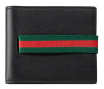Gucci Elastic Brieftasche aus Leder