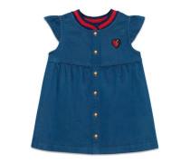Baby Kleid aus Denim mit Herz