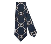 Krawatte aus Baumwolle mit GG