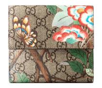 Brieftasche mit Überschlag und Gucci Tian Print