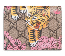 Kartenetui mit Gucci Bengal-Print