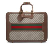Koffer aus GG Supreme mit Webstreifen