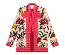 Hemd mit exklusivem Gucci Garden-Print