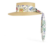 Papier-Hut mit New Flora-Band