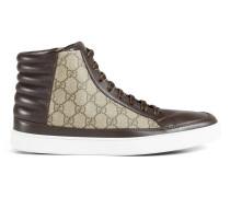Hoher Sneaker aus GG Supreme Canvas