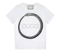 T-Shirt mit Gucci Ouroboros-Print