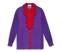 button-down-hemd aus seide