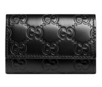 Schlüsseletui aus Gucci Signature Leder