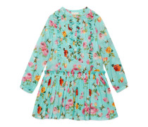 Kinder Kleid mit Rosen und Bienen