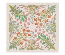 Einstecktuch aus Seide mit Neu-Flora-Print