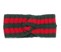Kopfband aus Wolle mit Webstreifen