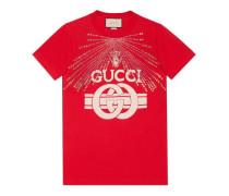 T-Shirt mit Gucci Print