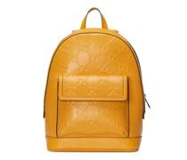 Rucksack aus geprägtem GG Leder