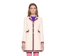 Mantel aus Wolle mit Sylvie Web