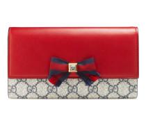 Lange Brieftasche Grosgrain aus GG Supreme