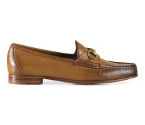 1953 Horsebit-Loafer aus Leder