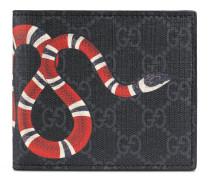 Brieftasche für Münzen aus GG Supreme mit Kingsnake-Print