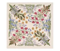 Halstuch aus Wolle und Seide mit Neu-Flora-Print