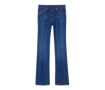 Hose aus blauem Jeans