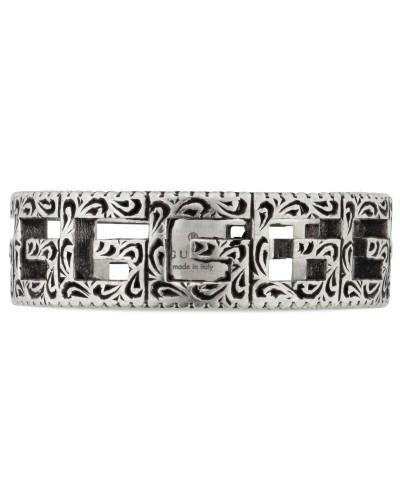 Ring aus Silber mit Square G