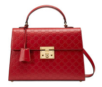 Henkeltasche Padlock aus Gucci Signature Leder