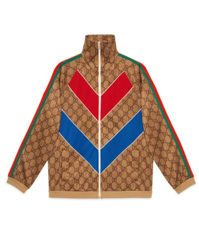 Jacke aus technischem GG Jersey