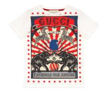 Kinder T-Shirt mit Gucci Zirkus-Print