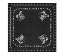 Halstuch aus Seide mit Drachen-Print