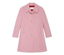 Mantel aus Stretchwolle