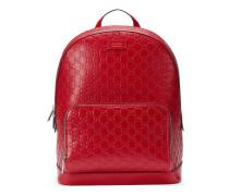 Rucksack aus Gucci Signature Leder
