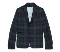 Cambridge-Jacke aus Wolle mit Schottenkaro