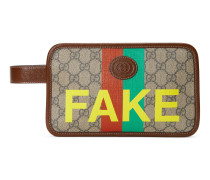 "Kosmetiketui mit ""Fake/Not""-Print"