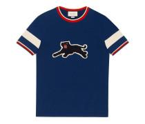 T-Shirt aus Baumwolle mit Panther