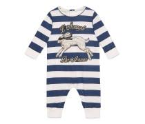 Baby Schlafanzug aus Baumwolle mit Hasen-Print