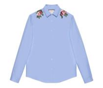 Duke Hemd aus Baumwolle mit Stickerei