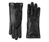 Handschuh aus Gucci Signature Leder