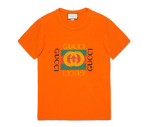 T-Shirt mit Gucci Logo-Print