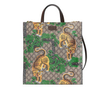 Weicher Shopper aus GG Supreme mit Gucci Bengal-Print