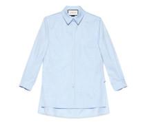 Hemd aus gewaschenem Oxford