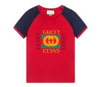 T-Shirt aus Baumwolle mit Gucci Logo