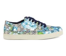 Low-Top-Sneaker mit GG und Blumen-Print
