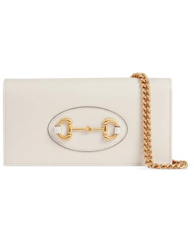 Gucci 1955 Horsebit Brieftasche mit Kettenriemen