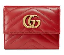 Brieftasche GG Marmont aus Matelassé-Leder