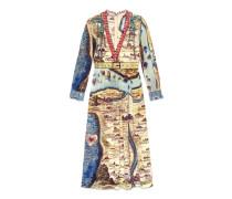 Kleid mit Carte de Tendre Print