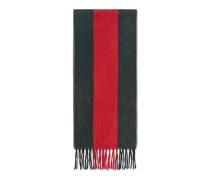 Schal aus Wolle mit Webdetail
