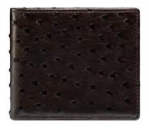 Brieftasche aus Straußenleder