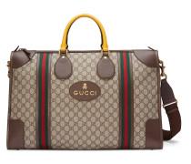 Reisetasche aus weichem GG Supreme mit Webstreifen