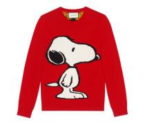 Pullover mit Snoopy und Tigerstreifen