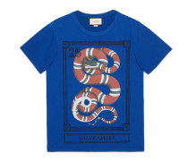 T-Shirt mit Kingsnake-Print